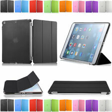 Magnetic Smart Cover Leather + Back Case for New Apple iPad 5 iPad Air Mini 1 2