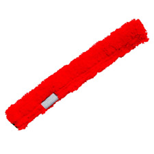 Unger Microfiber Strip Washer Red Sleeve Washer Cover Window Cleaning Washing