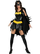 Adult Licensed Batgirl Fancy Dress Costume Superhero Sexy Ladies Batman BN