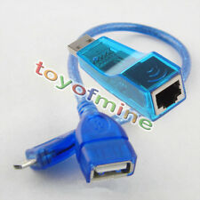 RJ45 to USB Adapter + MicroUSB 5Pin Male to USB Female OTG Cable for Android Pad