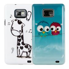 kwmobile HARD CASE FÜR SAMSUNG GALAXY S2 I9100 S2 PLUS I9105 WUNSCHFARBE COVER