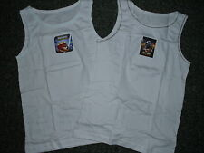 2 Pack Of Boys Star  Wars Angry Birds Vests BNIP, Ages 3-4, 5-6 & 7-8 (PJ18)