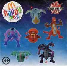 McDonald's MC DONALD'S HAPPY MEAL - 2011 Bakugan Pezzi singoli