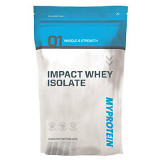 Myprotein Impact Siero latte Isolare Denaturate Proteine Whey Isolate 5Kg Banana