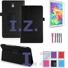 "UK Smart Folio Leather Smart Case Cover Stand for Samsung Galaxy Tab 4 7""/10.1"""