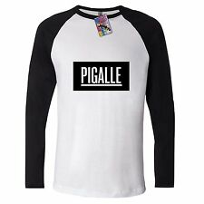 PIGALLE BOX LONG SLEEVE T shirt asap ROCKY Hipster Swag COCAINE CAVIAR HYPE DOPE