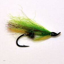 12 Salmon Fly Fishing Flies single hook fly fishing by Dragonflies