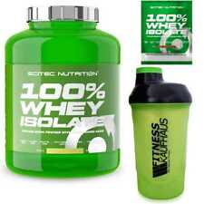 Scitec Nutrition 100% Whey Isolate 2000g Eiweiss + Shaker + Probe