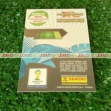 TOP MASTER LIMITED EDITION ROAD TO 2014 WORLD CUP BRAZIL CARD ADRENALYN XL 14