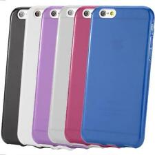 TPU Silicone Gel Skin Case Cover For 4.7 Inches iPhone 6/6S + Screen Protector