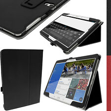 """PU Leather Folio Case for Samsung Galaxy Tab S 10.5"""" SM-T800 SM-T805 Stand Cover"""
