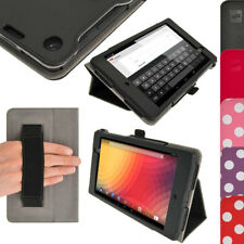 PU Leather Folio Stand Case for Google Nexus 7 FHD 2nd II Gen 2013 Cover Holder