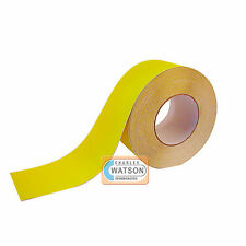 Yellow ANTI SLIP TAPE High Grip Adhesive Backed Non Slip Safety Flooring