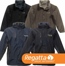 Regatta Isotex 5000 Windfall Elástico Chaqueta Impermeable Transpirable & logo s