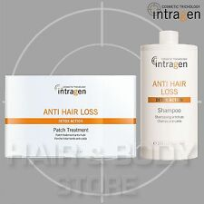 SHAMPOO 1L + 30 CEROTTI ANTI HAIR LOSS Intragen azione anticaduta patch capelli