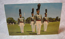 HONOR GUARD OF CADETS US MILITARY ACADEMY WEST POINT N.Y. VINTAGE  POSTCARD   T*