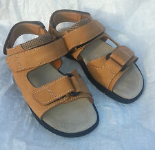 British Army Tan Desert Leather Sandals BRAND NEW Holiday Beach Warm Weather