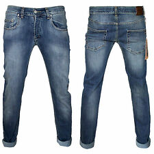 Originale Klixs Jeans Uomo Denim Comfort Slim Fit Taglia 52 44 46 48 50 52 54