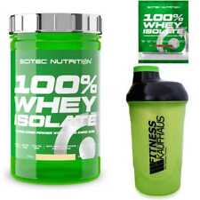 Scitec Nutrition 100% Whey Isolate 700g Eiweiss + Shaker + Probe
