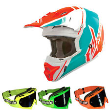 Fly 2015 Motocross Helm Kinetic Pro Trey Canard Motocross Enduro MX-2 Brille