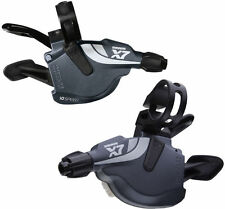 SRAM X7 TRIGGER SHIFTER FRONT/REAR OR SET AVAILABLE  2X10 SPEED - STORM GREY