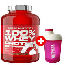 Scitec Nutrition 100% Whey Protein Professional 2350g Eiweiss + Ladyline Shaker