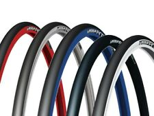 Lot 2 MICHELIN PRO 4 Service Course pair 700 x 23 black red blue road tires