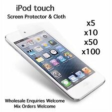 iPod touch 5th 6th generation screen protectors and cleaning cloth wholesale