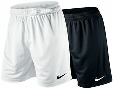 NIKE Sportshort Park Knit Short Unlined Dri-Fit schwarz / weiß