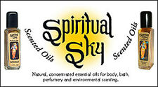 Spiritual Sky Scented Oil: 1/4 oz: Choose Scent 1 3 or 6 Bottles! (Perfume Oils)