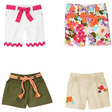 Gymboree Girl Shorts Bermuda Belted Bike 4 5 7 8 10 NWT