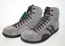 "TOMMY HILFIGER Scarpe Sneaker ""Barry 2A"" Pelle grigia NUOVO"