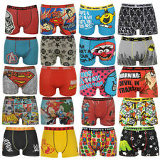 Men'S Boxer shorts S M L XL 2XL Marvel Superman WWE Mix