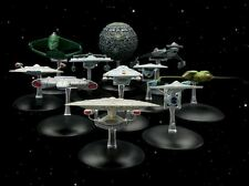 STAR TREK STARSHIPS COLLECTION EAGLEMOSS ALIEN BACK ISSUES 3 5 31 37 38 45 47 49