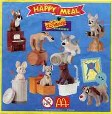 McDonald's MC DONALD'S HAPPY MEAL - 2001 Lilly e il Vagabondo 2 Pezzi Singoli