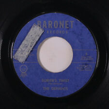 DEFIANTS: Surfer's Twist / Twistin' N' Stompin' 45 (tol) Oldies