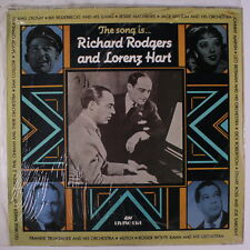 RODGERS & HART: The Song Is Rodgers & Hart LP Sealed (UK Mono, sealed in loose