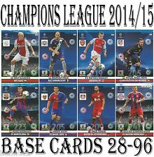 #28-96 BASE CARDS Panini 2014/2015 Adrenalyn Champions League