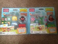 MOSHI MONSTERS Mega Bloks Play Sets Customize 24-26 Pcs Blocks Furi Diavlo NEW