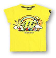 Kids - Merchandising Valentino Rossi Kid Rainbow 46 T-shirt Rossi Yellow