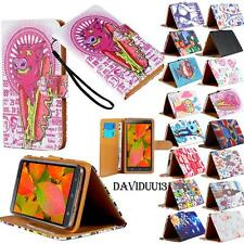 For Various VKWorld Mobile Phones - Stand Leather Wallet Card Flip Case Cover