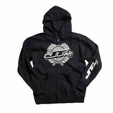 JT RACING ZIP Hoody Guirnalda schwarz Motocross Enduro Cross MTB Quad MX FMX DH