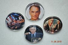 Snap Button Charm metal charm Mark Harmon/NCIS GIBBS/for snap button bracelets