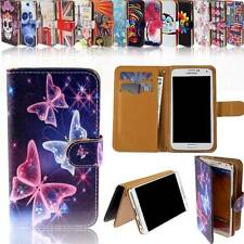 Universal Magnetic Flip Wallet Stand Leather Case Cover For Various SmartPhones