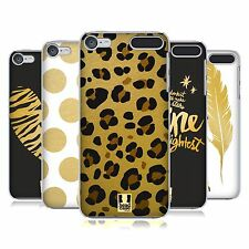 HEAD CASE DESIGNS DORATO COVER RETRO RIGIDA PER APPLE iPOD TOUCH MP3