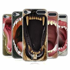 HEAD CASE DESIGNS DENTI AFFILATI COVER MORBIDA IN GEL PER APPLE iPOD TOUCH MP3
