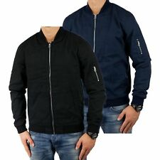 JACK & JONES jjorCOTE Herren Bomberjacke Collagejacke Sweatjacke Reg Fit 2207
