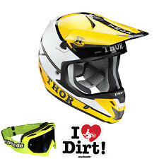 THOR Motocross MTB Casco 2015 VERGE PRO GP giallo-blu Enduro Quad Downhill FR