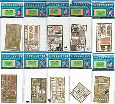 Eduard - 1/35 Photo-etch Sets for Panzer Tanks (Tamiya)