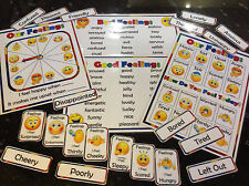 emotions feelings resources flashcards and posters